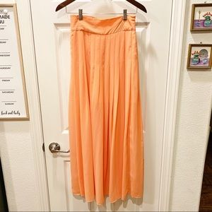 Maeve Anthropologie maxi skirt extra small xs